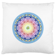 Mandala Universe Energy Om Large Cushion Case (two Sides)