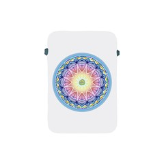 Mandala Universe Energy Om Apple Ipad Mini Protective Soft Cases by Nexatart