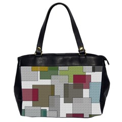 Decor Painting Design Texture Office Handbags (2 Sides)  by Nexatart
