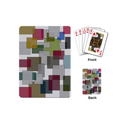 Decor Painting Design Texture Playing Cards (mini)