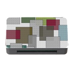 Decor Painting Design Texture Memory Card Reader With Cf by Nexatart