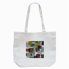 Decor Painting Design Texture Tote Bag (white) by Nexatart