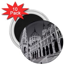 Architecture Parliament Landmark 2 25  Magnets (10 Pack)  by Nexatart