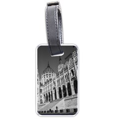 Architecture Parliament Landmark Luggage Tags (two Sides) by Nexatart
