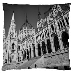 Architecture Parliament Landmark Large Cushion Case (two Sides) by Nexatart