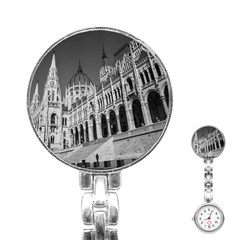 Architecture Parliament Landmark Stainless Steel Nurses Watch by Nexatart