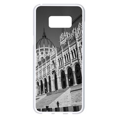Architecture Parliament Landmark Samsung Galaxy S8 Plus White Seamless Case by Nexatart