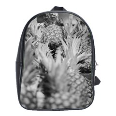 Pineapple Market Fruit Food Fresh School Bag (large)