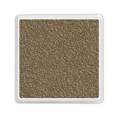 Leather Texture Brown Background Memory Card Reader (square)  by Nexatart
