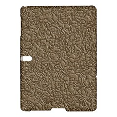Leather Texture Brown Background Samsung Galaxy Tab S (10 5 ) Hardshell Case  by Nexatart