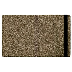 Leather Texture Brown Background Apple Ipad Pro 12 9   Flip Case by Nexatart