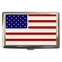Usa Flag Cigarette Money Case