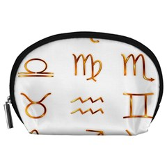 Signs Of The Zodiac Zodiac Aries Accessory Pouches (large)