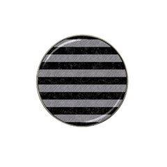 Stripes2 Black Marble & Gray Colored Pencil Hat Clip Ball Marker (10 Pack) by trendistuff