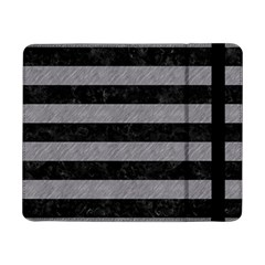 Stripes2 Black Marble & Gray Colored Pencil Samsung Galaxy Tab Pro 8 4  Flip Case by trendistuff