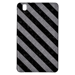 Stripes3 Black Marble & Gray Colored Pencil (r) Samsung Galaxy Tab Pro 8 4 Hardshell Case by trendistuff
