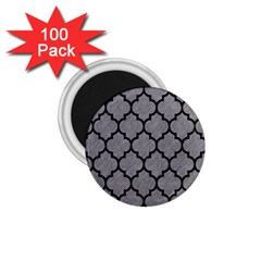 Tile1 Black Marble & Gray Colored Pencil (r) 1 75  Magnets (100 Pack)  by trendistuff