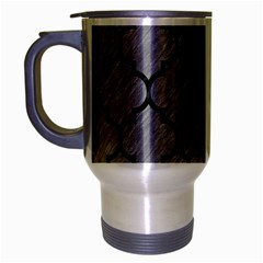 Tile1 Black Marble & Gray Colored Pencil (r) Travel Mug (silver Gray) by trendistuff