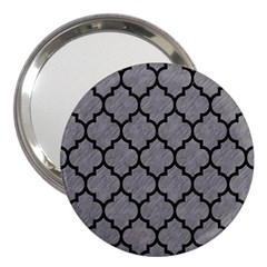Tile1 Black Marble & Gray Colored Pencil (r) 3  Handbag Mirrors by trendistuff