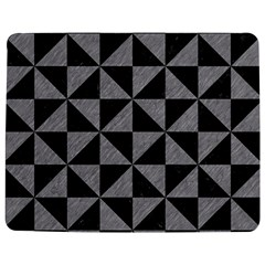 Triangle1 Black Marble & Gray Colored Pencil Jigsaw Puzzle Photo Stand (rectangular) by trendistuff