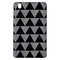 Triangle2 Black Marble & Gray Colored Pencil Samsung Galaxy Tab Pro 8 4 Hardshell Case by trendistuff