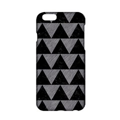 Triangle2 Black Marble & Gray Colored Pencil Apple Iphone 6/6s Hardshell Case by trendistuff