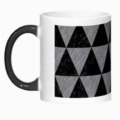Triangle3 Black Marble & Gray Colored Pencil Morph Mugs by trendistuff
