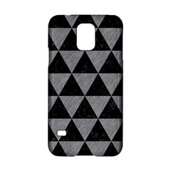 Triangle3 Black Marble & Gray Colored Pencil Samsung Galaxy S5 Hardshell Case  by trendistuff