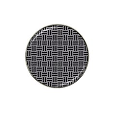 Woven1 Black Marble & Gray Colored Pencil (r) Hat Clip Ball Marker (4 Pack) by trendistuff