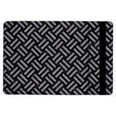 Woven2 Black Marble & Gray Colored Pencil Ipad Air Flip by trendistuff