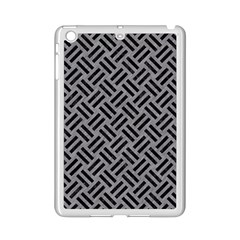 Woven2 Black Marble & Gray Colored Pencil (r) Ipad Mini 2 Enamel Coated Cases by trendistuff
