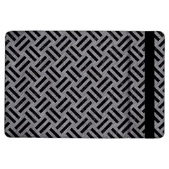 Woven2 Black Marble & Gray Colored Pencil (r) Ipad Air Flip by trendistuff