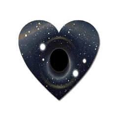 Brightest Cluster Galaxies And Supermassive Black Holes Heart Magnet by Mariart