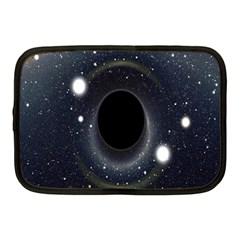 Brightest Cluster Galaxies And Supermassive Black Holes Netbook Case (medium)  by Mariart
