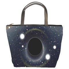 Brightest Cluster Galaxies And Supermassive Black Holes Bucket Bags by Mariart