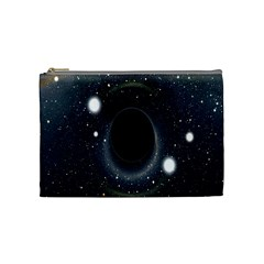 Brightest Cluster Galaxies And Supermassive Black Holes Cosmetic Bag (medium)  by Mariart