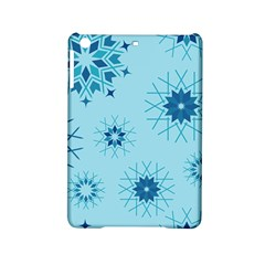 Blue Winter Snowflakes Star Ipad Mini 2 Hardshell Cases by Mariart
