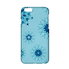Blue Winter Snowflakes Star Apple Iphone 6/6s Hardshell Case