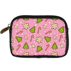 Ginger Cookies Christmas Pattern Digital Camera Cases
