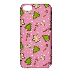Ginger Cookies Christmas Pattern Apple Iphone 5c Hardshell Case by Valentinaart
