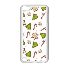 Ginger Cookies Christmas Pattern Apple Ipod Touch 5 Case (white) by Valentinaart