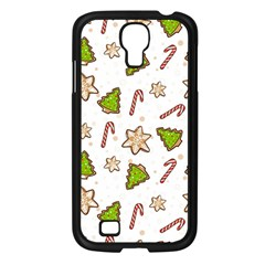 Ginger Cookies Christmas Pattern Samsung Galaxy S4 I9500/ I9505 Case (black) by Valentinaart
