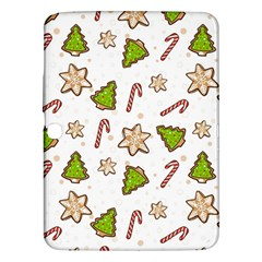 Ginger Cookies Christmas Pattern Samsung Galaxy Tab 3 (10 1 ) P5200 Hardshell Case  by Valentinaart