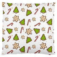 Ginger Cookies Christmas Pattern Standard Flano Cushion Case (one Side) by Valentinaart
