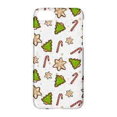 Ginger Cookies Christmas Pattern Apple Iphone 7 Hardshell Case by Valentinaart