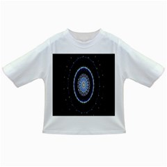 Colorful Hypnotic Circular Rings Space Infant/toddler T-shirts