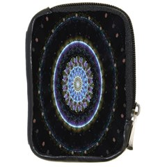 Colorful Hypnotic Circular Rings Space Compact Camera Cases by Mariart