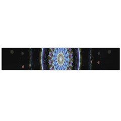 Colorful Hypnotic Circular Rings Space Flano Scarf (large) by Mariart