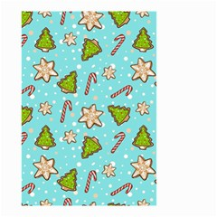 Ginger Cookies Christmas Pattern Small Garden Flag (two Sides)