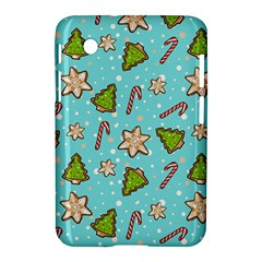 Ginger Cookies Christmas Pattern Samsung Galaxy Tab 2 (7 ) P3100 Hardshell Case  by Valentinaart